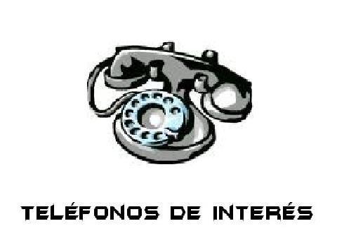 fotos para imprimir de telefonos | LISTADO DE TELÉFONOS DE INTERÉS
