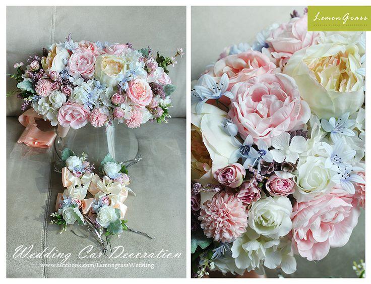 8 best silk flower car decoration images by valerie chan on freshflower silkflower lemongrssfloral wedding bouquet for order please whatsapp 852 mightylinksfo