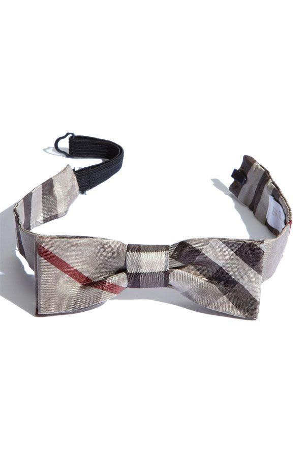 Burberry bow tie for boys