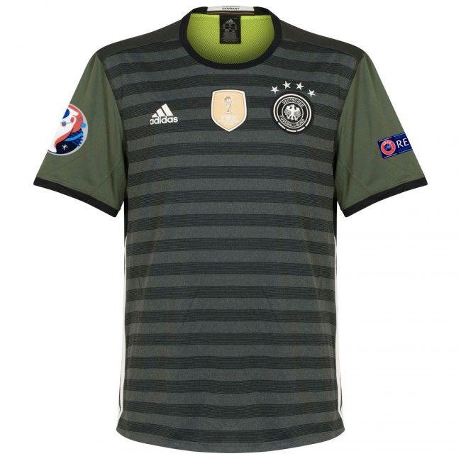 Camiseta de Alemania 2016-2017 Visitante + Parche Eurocopa 2016 + Respect #Eurocopa2016 #Euro2016