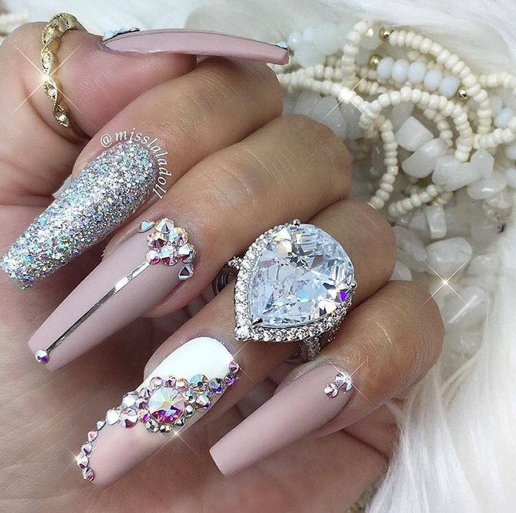 Best 600 Nails ideas on Pinterest | Belle nails, Bling bling and ...