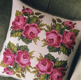 Stewart Merrett - Antique Inspirations floral cross stitch designs #afs