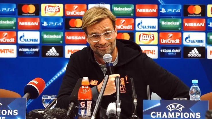 cool Jurgen Klopp Full Pre-Match Press Conference - Spartak Moscow v Liverpool - Champions League