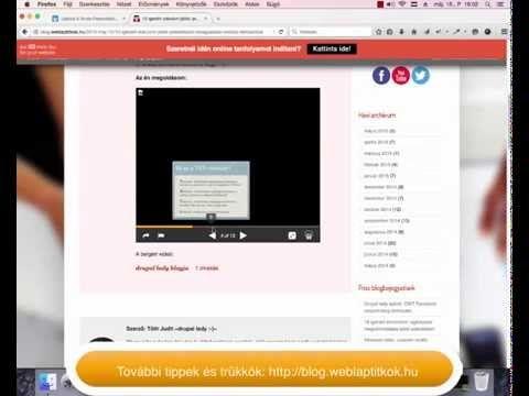 10 igenért elárulom játék: prezentáció beágyazása weblap tartalomba | ~drupal lady :-)~ oktatási blogja