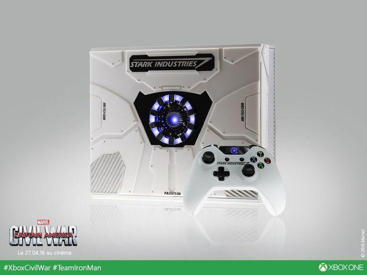 Não importa o seu time, você vai querer esse Xbox One especial do Homem de Ferro - http://www.showmetech.com.br/xbox-one-homem-de-ferro/