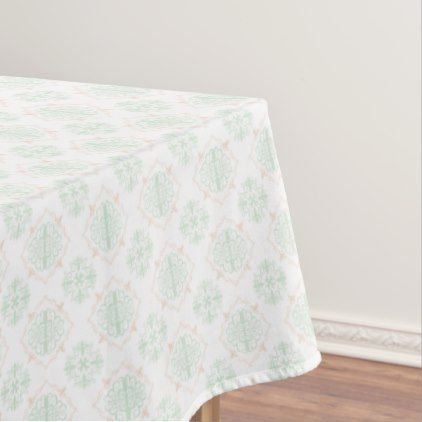 Turquoise Baroque Royal Damask Tablecloth - classic gifts gift ideas diy custom unique