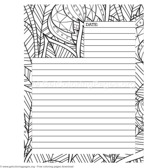3 Journal Page Coloring Pages Getcoloringpages Org Coloring Coloringbook Coloringpages Coloringb Coloring Journal Journal Pages Printable Coloring Pages