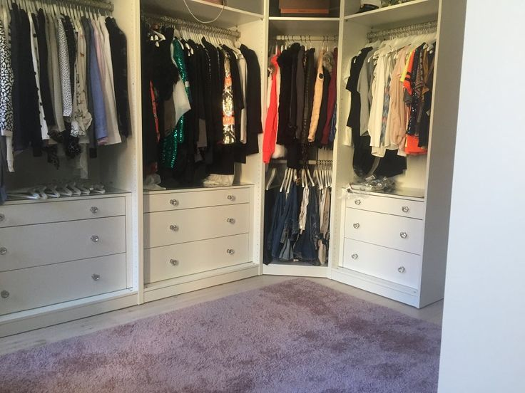 Matta till min Walk in Closet interior Pinterest Garderob