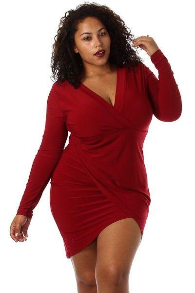 plus size valentine dresses 97 - Plus Size Valentine Dresses