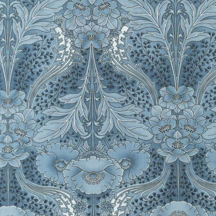 Robert Kaufman - Grandeur 2 ETJ-12120-68 DUSTY BLUE