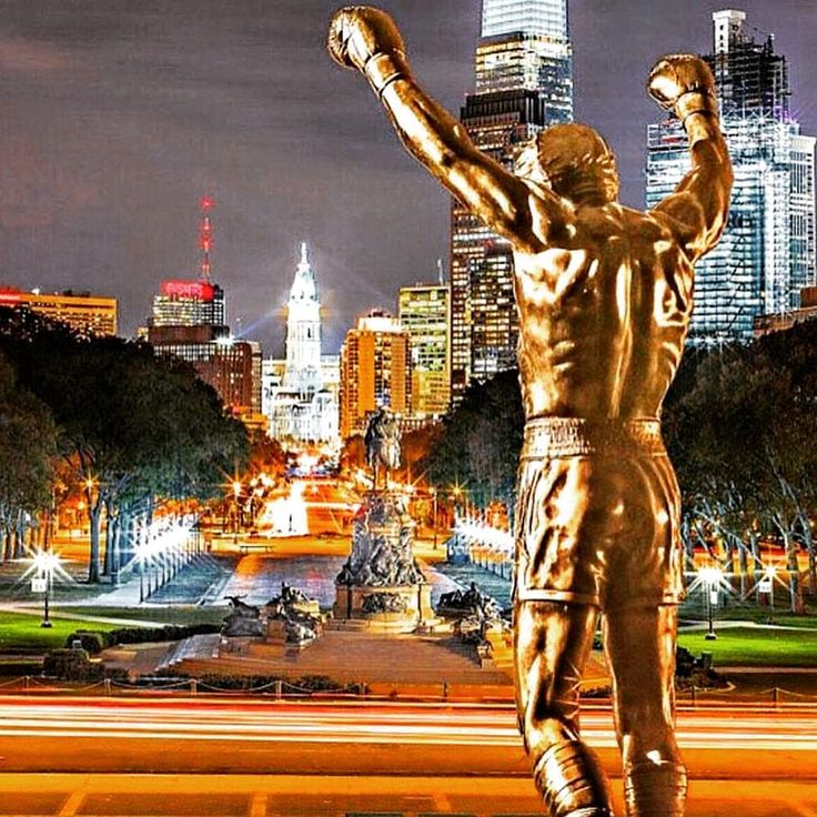 THE ULTIMATE SYMBOL OF SUCCES#ROCKY #LEGEND #ROCKY BALBOA STATUE #ROCKY STEPS #THE ITALIAN STALLION #EYE OF A TIGER #PHILLY #CREED #SYLVESTER STALLONE #CARL WEATHERS #MICHAEL B JORDAN