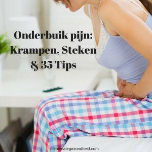 Onderbuik pijn: Krampen & Steken PLUS 35 Tips