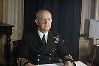 Andrew Cunningham Admiral of the fleet Navy England  First Sea Lord 1943-1946.[1]