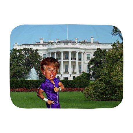 president donald trump Baby Blanket