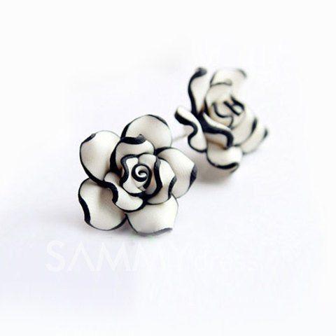 Cute Rose Earrings
