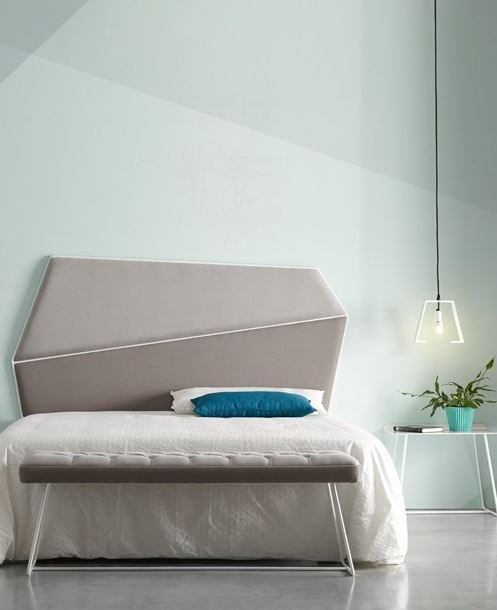 GEMMA High upholstered headboard for double bed by @altinox