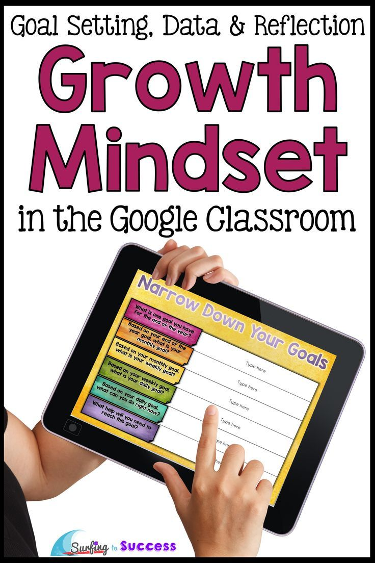 How do you help students develop a growth mindset? Give them the opportunity to set goals, track their data growth, & reflect. This paperless customizable technology resource for kids gives students a digital journal. The three main sections of this interactive journal are Goal Setting, Data Tracking, & Reflection. Growth Mindset quotes give elementary students an opportunity to reflect. The data allows students to give feedback. Activities & lessons for teachers in Google Classroom 3rd 4th…