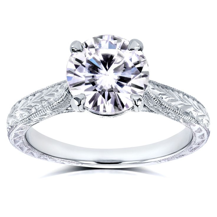Allurez 14kt White Gold Diamond Butterfly Fashion Ring - UK I 1/2 - US 4 1/2 - EU 48 1/2 UeUTkwZ74