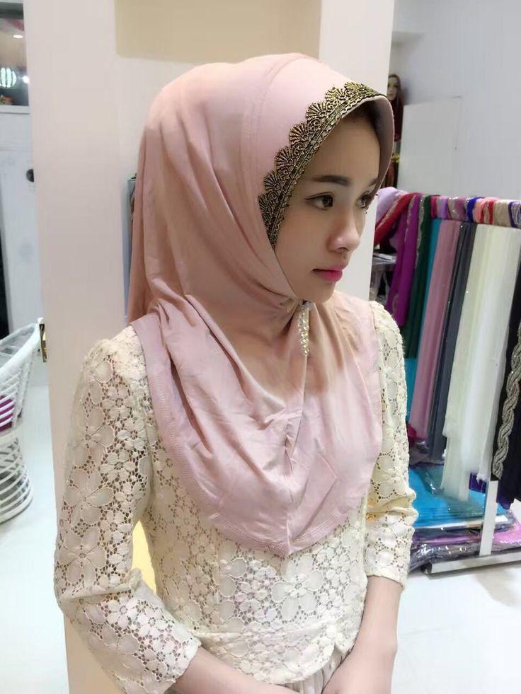 2015 New Fashion rimmed Muslim Hijab Scarf Islamic Shawls Wrap Shinny Scarf Wholesale Scarves