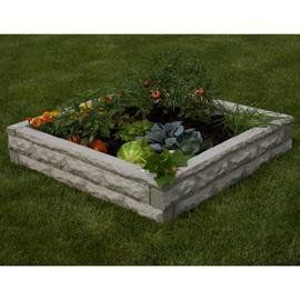 """Good Ideas GW-RBG-RED Garden Wizard Raised Bed Garden, Red Brick by Good Ideas. $149.00. The Good Ideas, Inc. Garden Wizard Raised Bed Garden Hybrid is the most innovative raised bed on the market today. This raised bed uses four 50"""" wall sections that interlock to enclose a 4'x4'x10"""" space. It is the very first raised bed garden that can water itself. That's right, this patented design makes use of specially designed soaker hose that connects to each wall. When you fill ..."""
