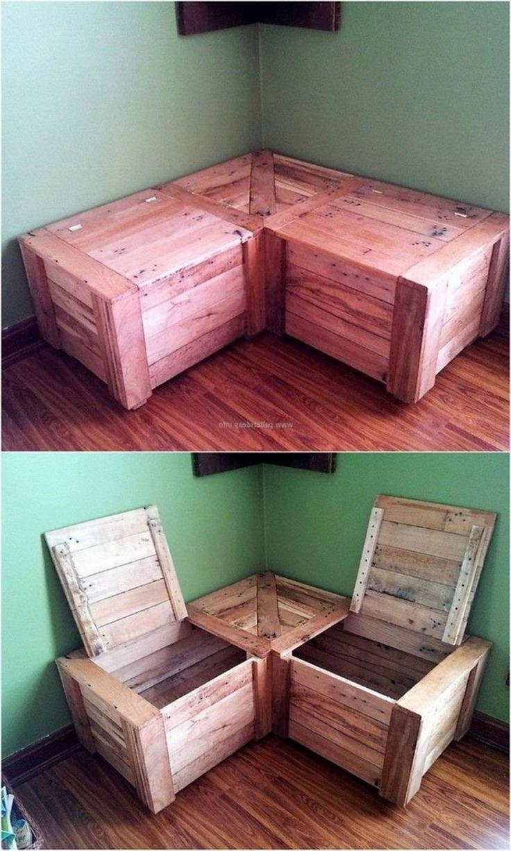 47 Elegant Toy Storage Ideas Wooden Pallet Furniture