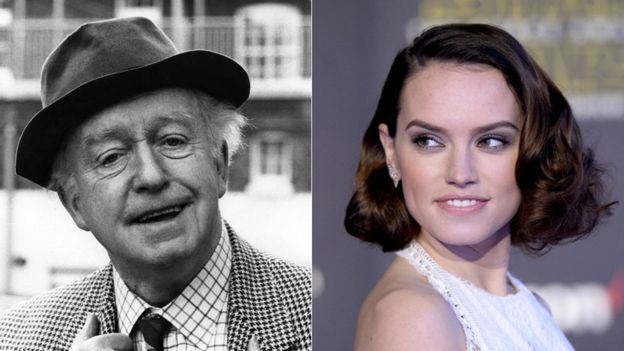 Arnold Ridley and Daisy Ridley