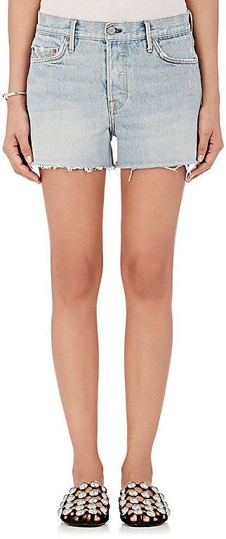 GRLFRND Women's Dovima Denim Boyfriend Shorts
