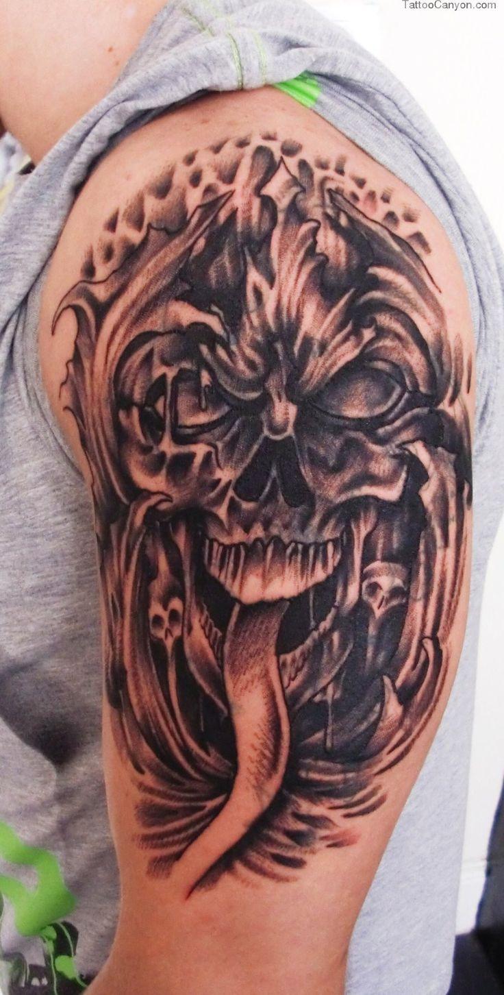 17 best ideas about skull tattoo design on pinterest skull sleeve tattoos skull drawings and. Black Bedroom Furniture Sets. Home Design Ideas