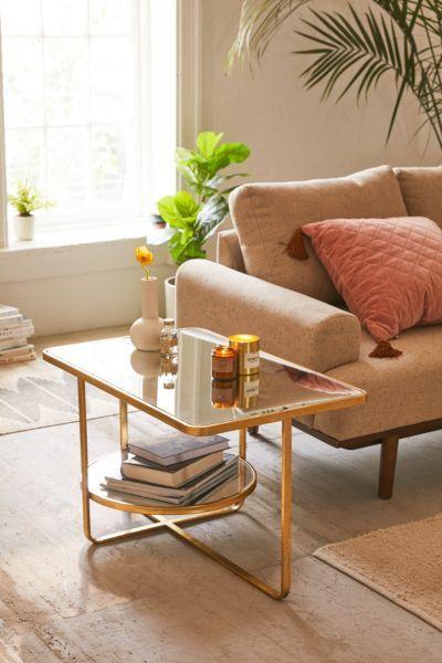 geneva mirrored coffee table furniture pinterest mirrored rh pinterest com