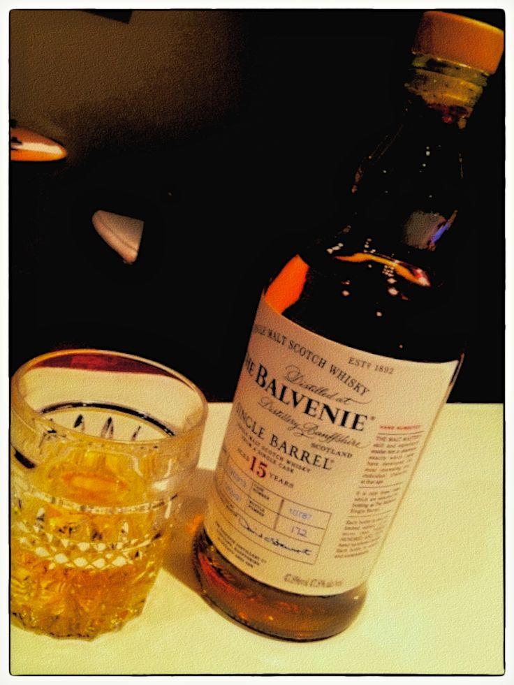 The Balvenie, a favourite single malt....