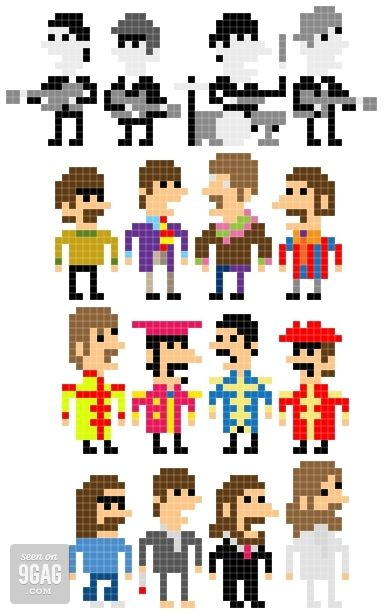 The Pixel Beatles