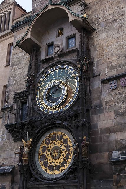Astronomische Uhr - Altstädter Ring, Prag (Prague Astronomical Clock)