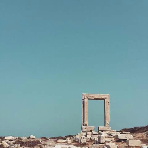 Naxos. Blue.