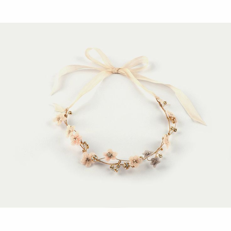 Love: Couronne Mariage Vintage Handmade Jewels Necklace headband - Cécile Boccara