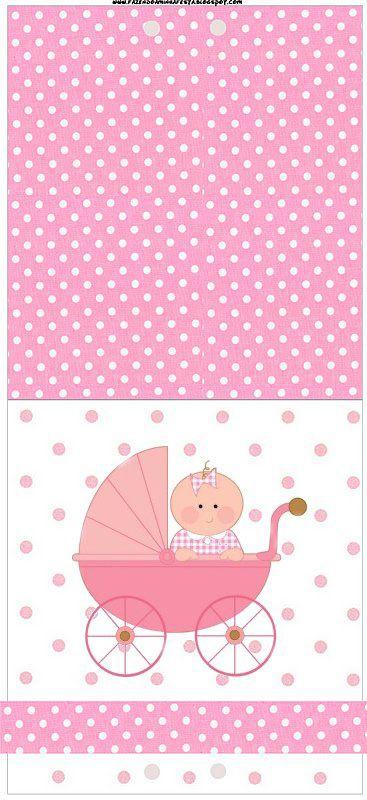 Gente vejam que lindas as artes que nossa Leitora Carla Faria fez, um kit para Chá de Bebe lindo, com o nosso fundo rosa poá. Muito Generosidade em compartilhar com a gente!!! Este post tem tudo para você fazer sozinho uma festa completa,com várias molduras para convites, rótulos para diversas guloseimas,rótulos de lembrancinhas e imagens!!!More