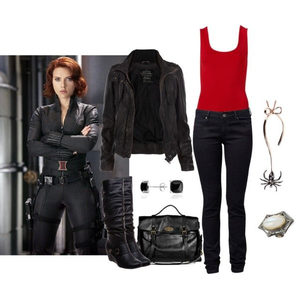 """""""The Avengers - Black Widow"""" by icebubbletea on Polyvore"""