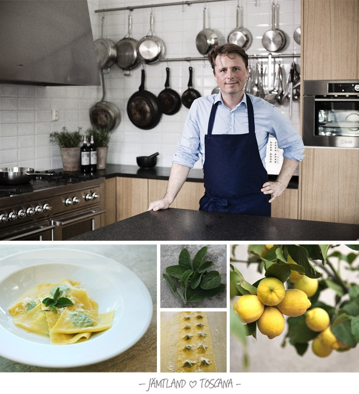 Anders & Cino — Jämtland ♥ Toscana  Cook your own Italian food with local ingredients.