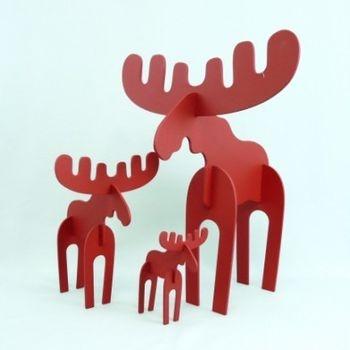 Red Moose Set