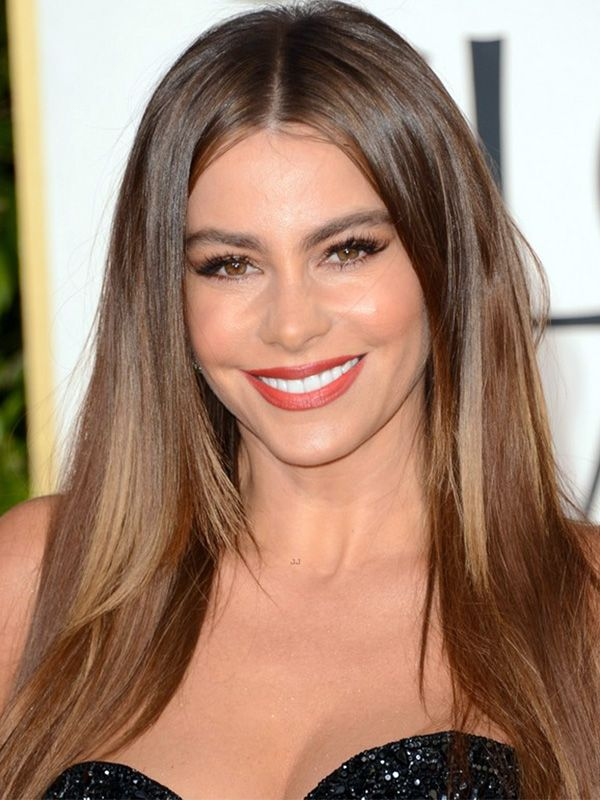 How-to: Sofia Vergara's Old Hollywood makeup at the Golden Globes http://beautyeditor.ca/2013/01/15/how-to-sofia-vergaras-old-hollywood-makeup-at-the-golden-globes/