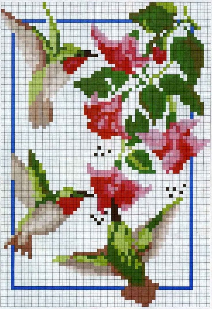 Hummingbird cross stitch - must do for Gladys