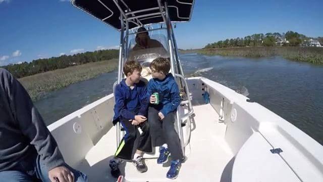 Just catching redfish in Amelia Island. #takeakidfishing . . . . . #fish #redfish #adventure #explore #explorida #myflorida #energybar #fishingflorida #lovefl #sunshine #healthy #Florida #floridafishing #loveFL  #reefsafe #fishing #nature #watersports #springtime #saltwater #skinnywater #boyslife #gowaxhead #thriveinthesun #floodtide #activefamily #nature #explore #sunscreen - http://ift.tt/1HQJd81