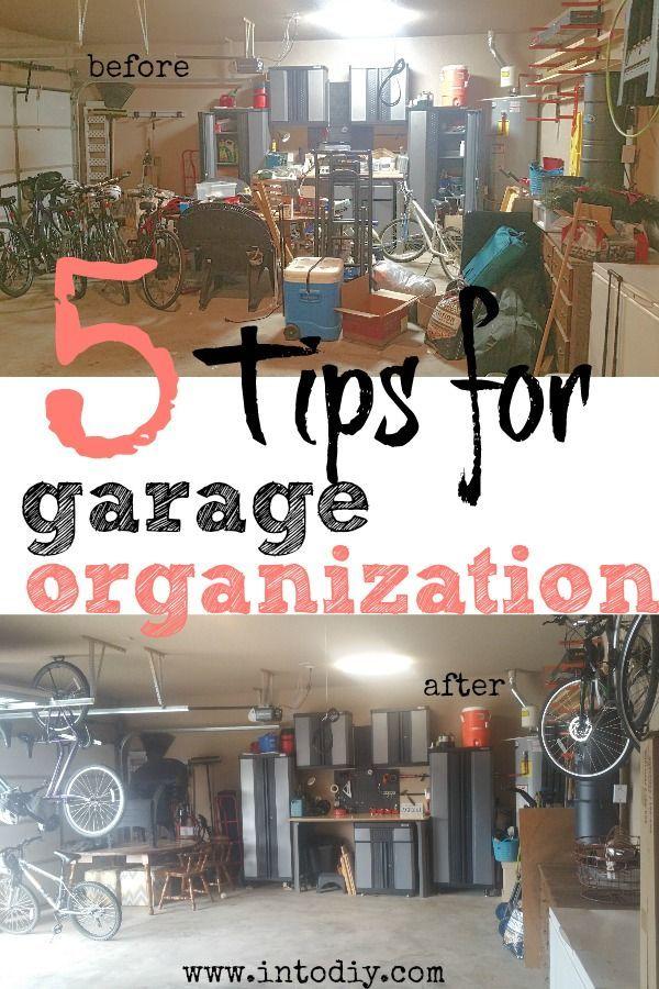 Garage Organization How To Organize Your Garage Garage