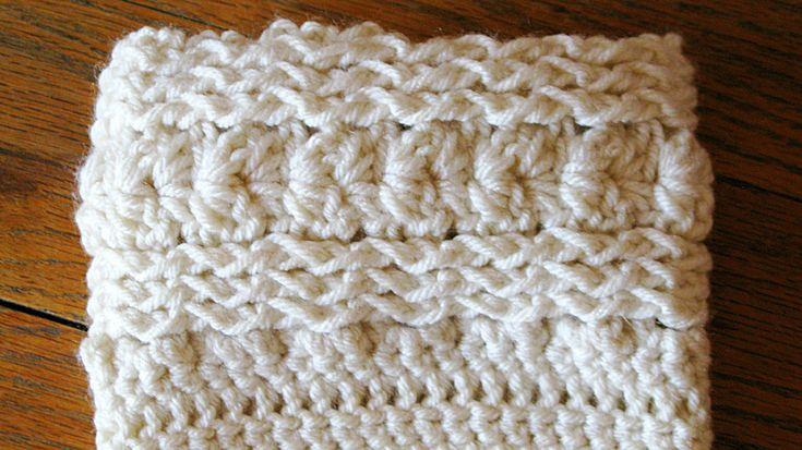Free Crochet Boot Cuff Pattern   Boot Cuffs