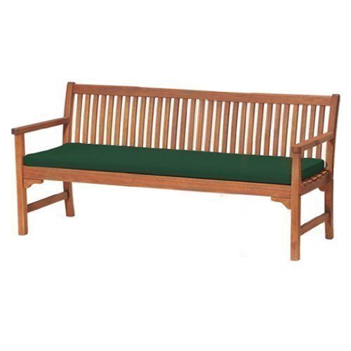 Gardenista Water Resistant 4-Seater Garden Bench Pad, Green Our garden accessories are manufactured using high quality water resistant fabric and quality fillings, adding comfort and colour to your garden and home. These large garden bench pads are ideal for a larger 4 seater bench – also available in 2 other sizes. A great range of products from seat pads, bench pads, lounger pads and bean bags. Available in a variety of great colours to complement and liven up your o