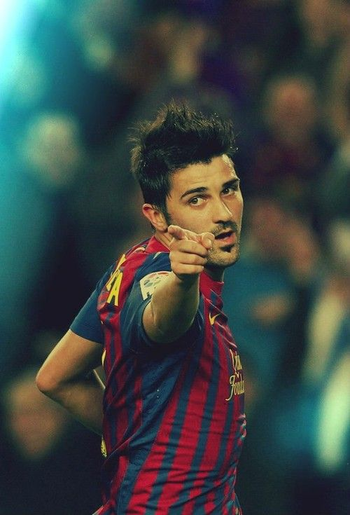 David Villa, FC Barcelona... I used to miss him....then Suarez happened.