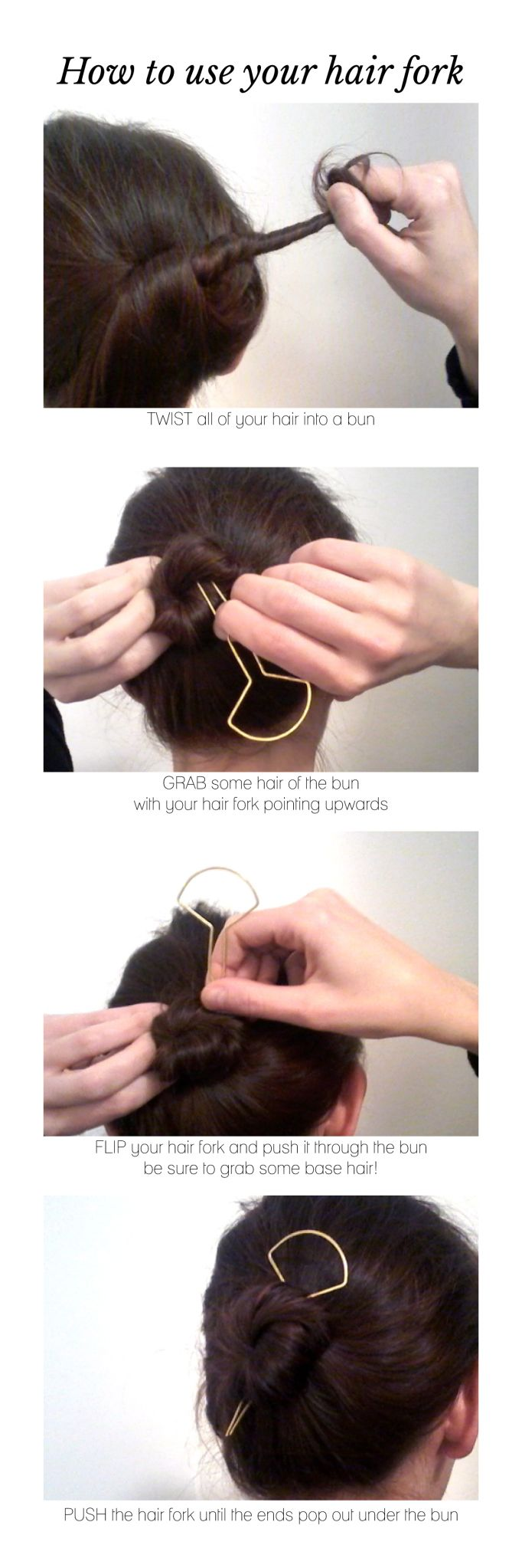 hot to use a hair fork | tutorial I CL.AC.                              …