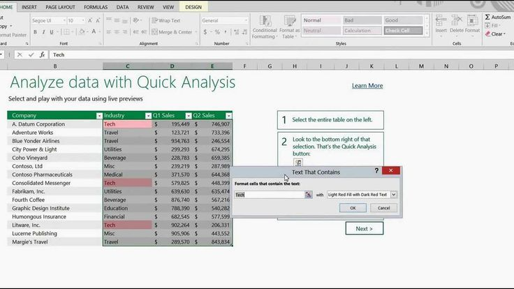When Excel 2013 came out, I did a video on some of the new features.