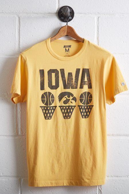 Tailgate Iowa Hawkeyes Basketball T-Shirt