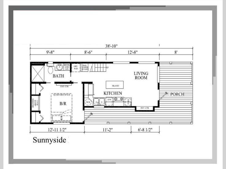 7 best Trailer House images on Pinterest   House floor plans ...