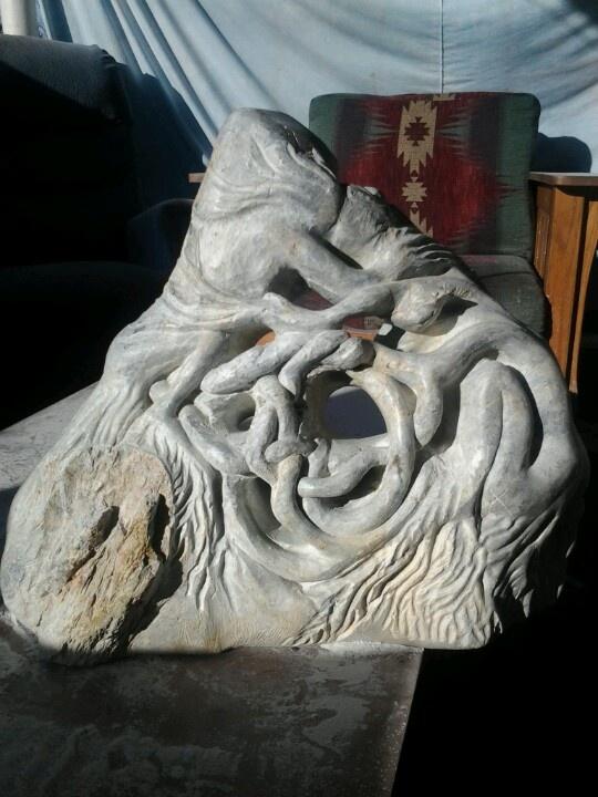A piece I'm currently working on I call Breir Spirits.